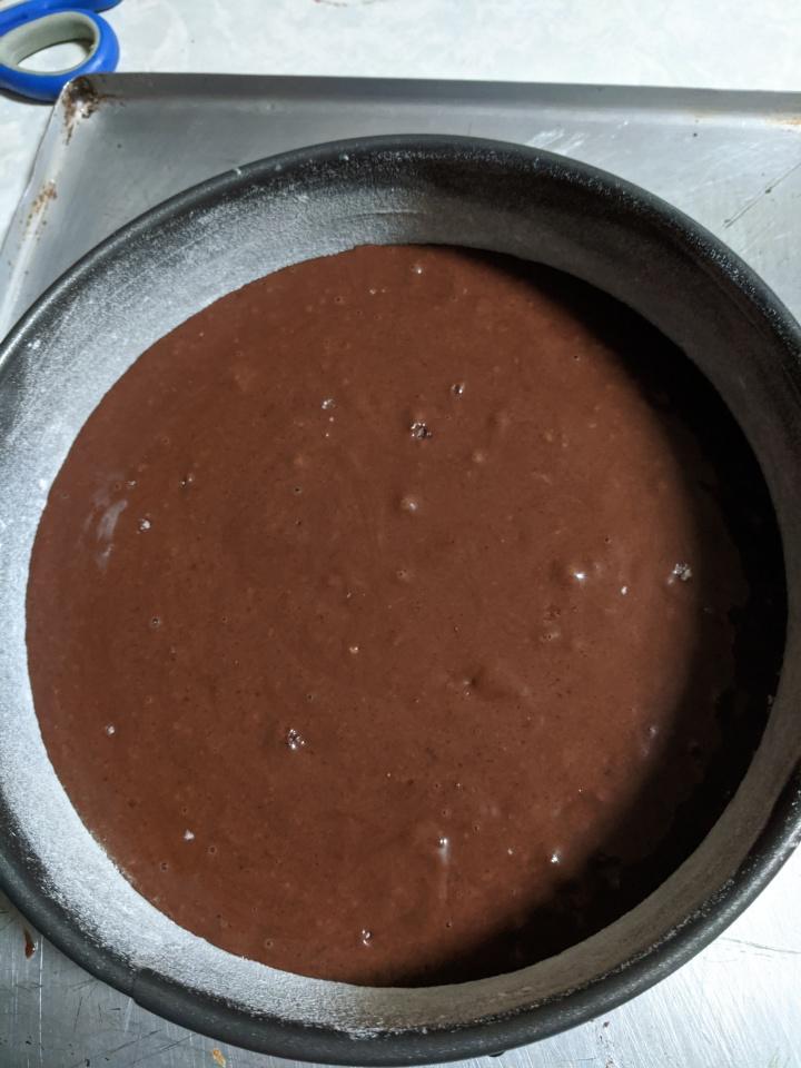 IMG_20200329_203230-Cake batter in the cake pan