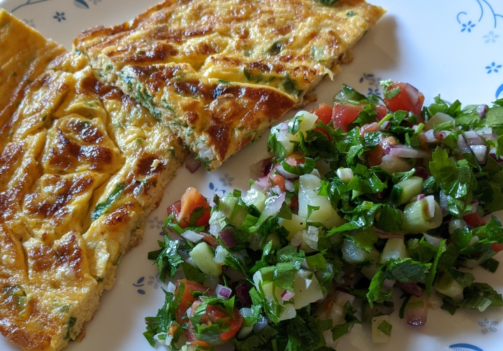 IMG_20200828_120128-Frittata with parsley salad