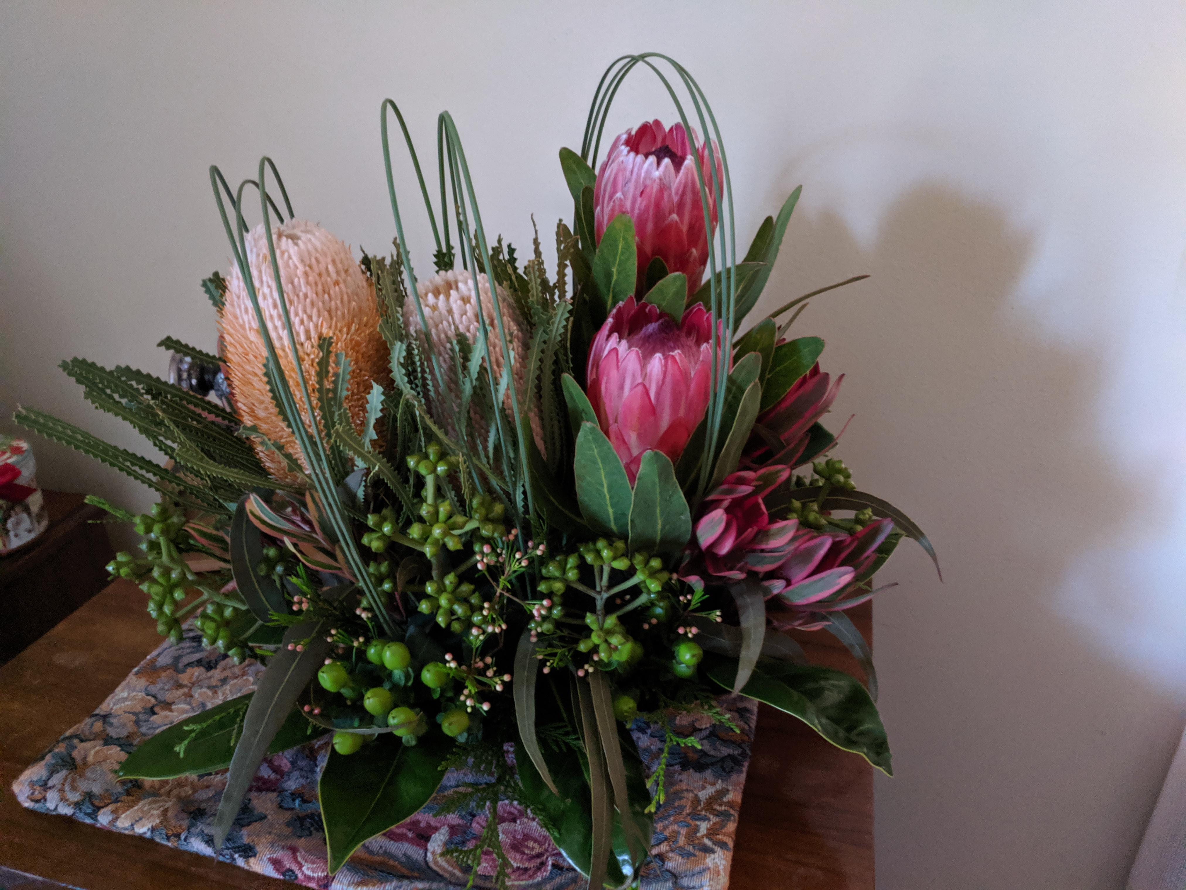 IMG_20190611_151745 -Protea in flower arrangement